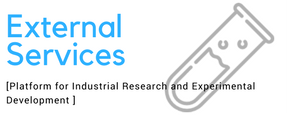 External Services of industrial research and experimental development for industry and academics.
