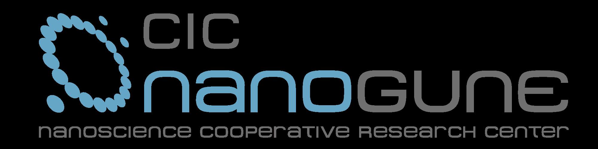 Logotipo de CIC nanoGUNE