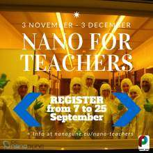 Nano for teachers course