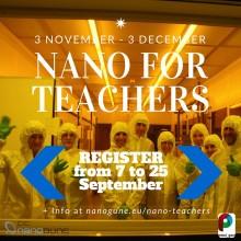 Nano for teachers course